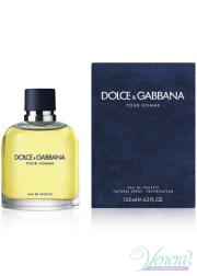 Dolce&Gabbana Pour Homme EDT 125ml για άνδρες Ανδρικά Αρώματα
