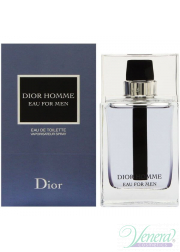 Dior Homme Eau for Men EDT 100ml for Men Men's Fragrance