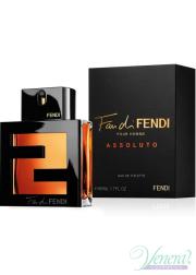 Fendi Fan di Fendi Pour Homme Assoluto EDT 100ml για άνδρες Αρσενικά Αρώματα