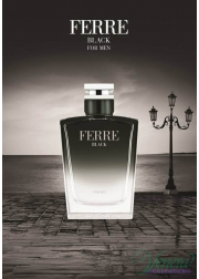 Ferre Black EDT 30ml για άνδρες Men's Fragrance
