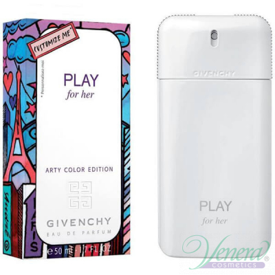 Givenchy Play For Her Arty Color Edition EDT 50ml for Women Women's Fragrance
