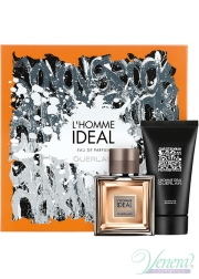 Guerlain L'Homme Ideal Eau de Parfum Set (EDP 50ml + SG 75ml) για άνδρες Men's Gift sets