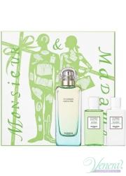 Hermes Un Jardin Sur Le Nil Set (EDT 100ml + BL 40ml + SG 40ml) για άνδρες και Γυναικες Men's and Women's Gift sets