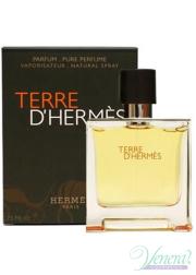 Hermes Terre D'Hermes Pure Parfum 75ml για άνδρες Ανδρικά Αρώματα