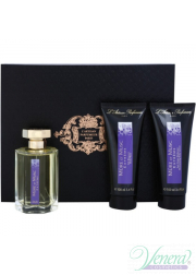 L'Artisan Parfumeur Mure et Musc Extreme Set (EDP 100ml + BL 100ml + SG 100ml) for Men and Women Unisex Fragrances