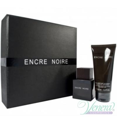 Lalique Encre Noire Set (EDT 50ml + SG 100ml) για άνδρες Αρσενικά Σετ