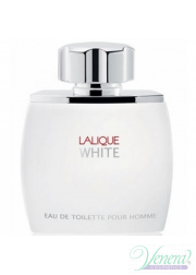 Lalique White EDT 75ml για άνδρες ασυσκεύαστo Προϊόντα χωρίς συσκευασία