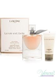 Lancome La Vie Est Belle Set (EDP 50ml + Body Lotion 50ml) για γυναίκες Γυναικεία σετ