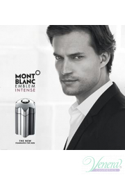 Mont Blanc Emblem Intense Set (EDT 100ml + AS Balm 100ml + SG 100ml) για άνδρες Men's Gift sets
