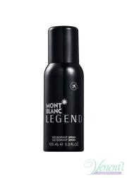 Mont Blanc Legend Deo Spray 100ml for Men Αρσενικά Προϊόντα για Πρόσωπο και Σώμα