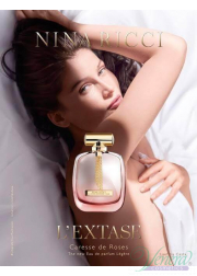 Nina Ricci L'Extase Caresse de Roses EDP 80ml for Women Without Package Women's Fragrance without package