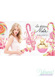 Nina Ricci Les Delices de Nina EDT 75ml για γυναίκες ασυσκεύαστo Women's Fragrances without package