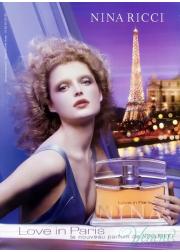 Nina Ricci Love in Paris EDP 30ml για γυναίκες Γυναικεία αρώματα