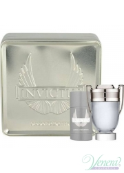 Paco Rabanne Invictus Set (EDT 50ml + Deo Stick 75ml) για άνδρες Sets