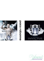 Paco Rabanne Invictus Set (EDT 50ml + Shower Gel 100ml) για άνδρες Sets