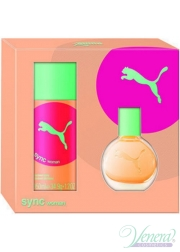Puma Sync Set (EDT 20ml + Deo Spray 50ml) for Women Women's Gift sets