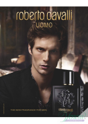 Roberto Cavalli Uomo EDT 100ml για άνδρες ασυσκεύαστo Men's Fragrances without package
