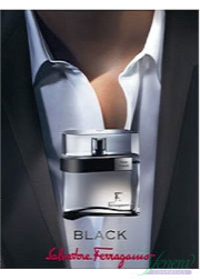 Salvatore Ferragamo F by Ferragamo Black EDT 100ml για άνδρες ασυσκεύαστo