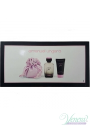 Ungaro L'Amour Fou Set (EDP 100ml + BL 50ml + Pouch) για γυναίκες Women's Gift sets
