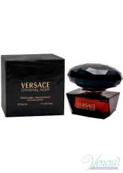 Versace Crystal Noir Perfumed Deodorant 50ml για γυναίκες