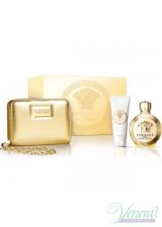 Versace Eros Pour Femme Set (EDP 100ml + BL 100ml + Bag) για γυναίκες Γυναικεία σετ