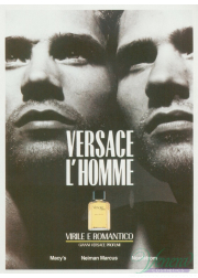 Versace L'Homme EDT 100ml for Men Men's Fragrances
