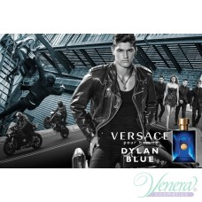 Versace Pour Homme Dylan Blue Set (EDT 100ml + EDT 10ml + SG 100ml + AS Balm 100ml) για άνδρες
