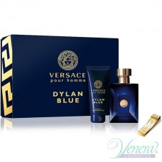 Versace Pour Homme Dylan Blue Set (EDT 100ml + SG 100ml + Money Clip) για άνδρες