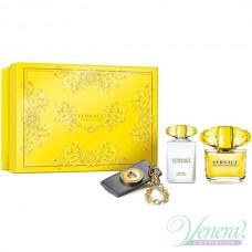 Versace Yellow Diamond Set (EDT 90ml + BL 100ml + Bag Tag) για γυναίκες