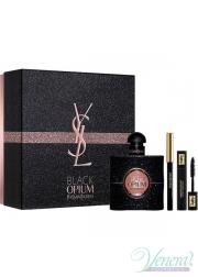 YSL Black Opium Set (EDP 50ml + Mascara 2ml + Pencil) για γυναίκες Γυναικεία σετ